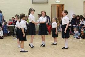 Junior dancing demonstration