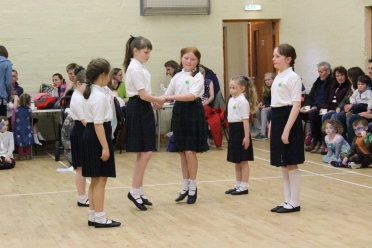Junior dancing demonstration