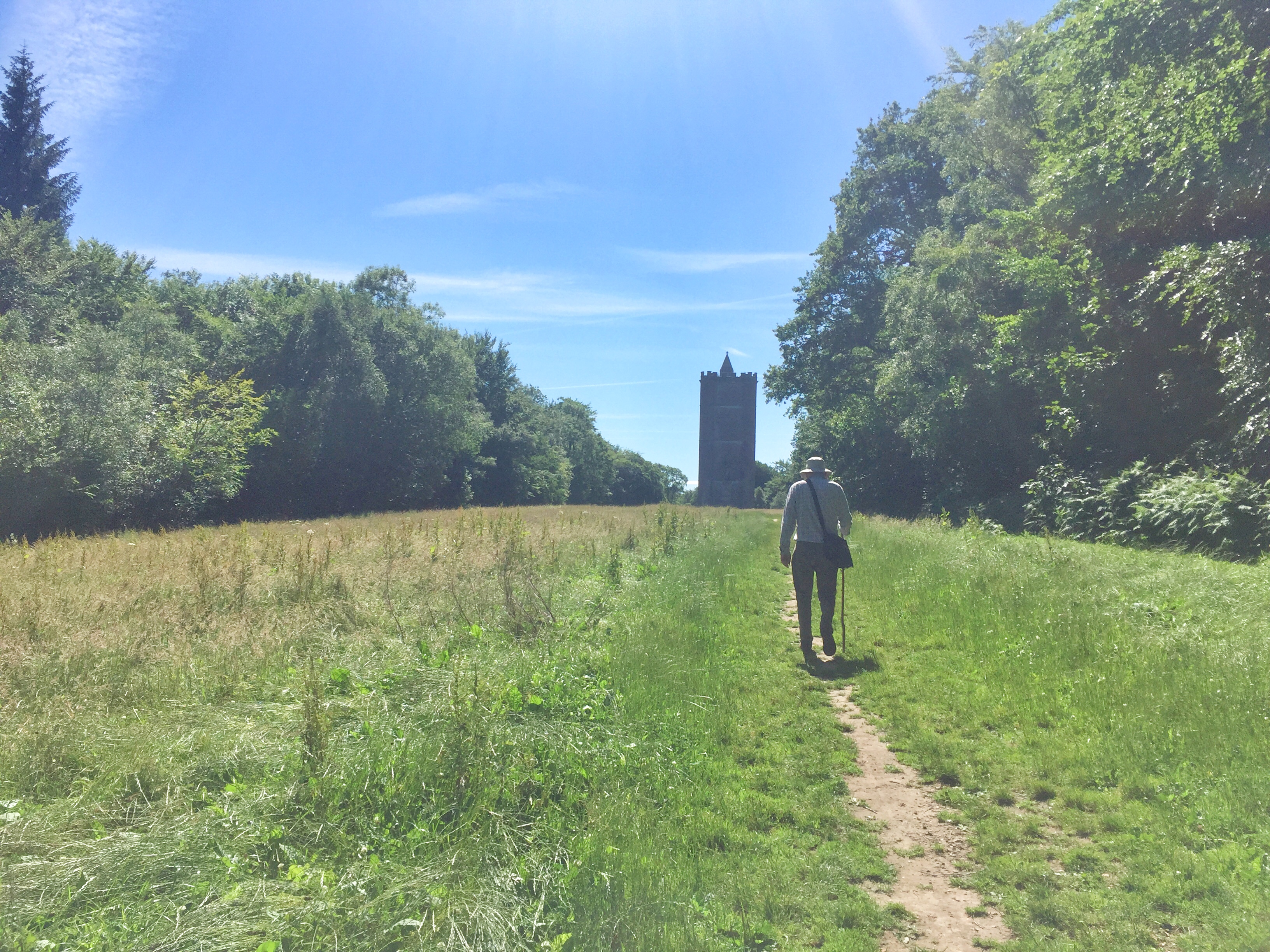Andrew Walking Alfreds Tower1