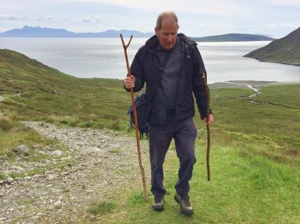 Andrew Walking Scotland
