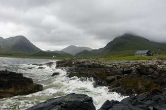The tidal zone at Bell's Bothy