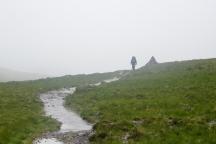 Enjoying a bit of Scottish weather