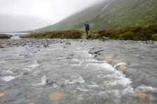 Another creek crossing to cool one's feet